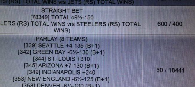 Parlay Bets